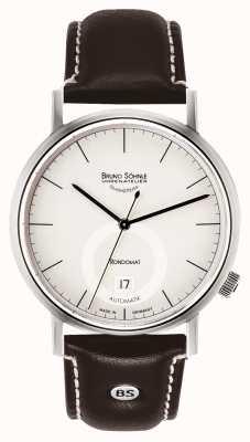 Bruno Sohnle Rondomatt II 41mm Automatic Stainless Steel White Dial 17-12098-241
