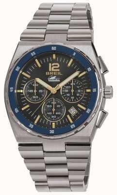 Breil Manta Sport Stainless Steel Chronograph Gun Dial Bracelet TW1641