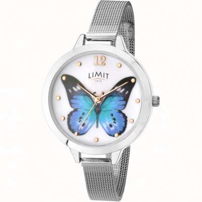 Limit womens secret garden butterfly mesh watch 6269.73