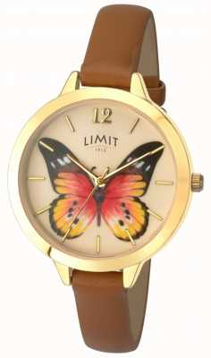 Limit Womens Secret Garden butterfly leather watch 6275.73