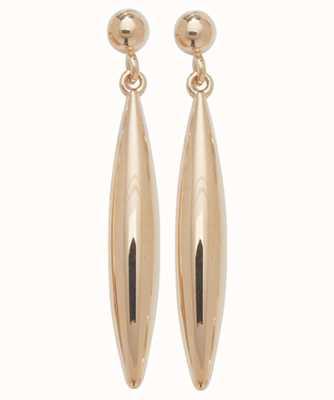 Treasure House 9k Rose Gold Drop Stud Earrings ES420R