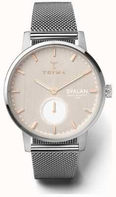Triwa Blush Svalan Silvert Mesh Super Slim SVST102-MS121212