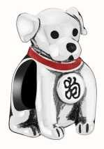 Chamilia Lucky Dog Charm 2020-1105