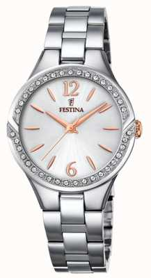 Festina Womens Stainless Steel Bracelet Silver Dial F20246/1