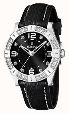 Festina Festina Ladies Watch Black Strap F16537/2