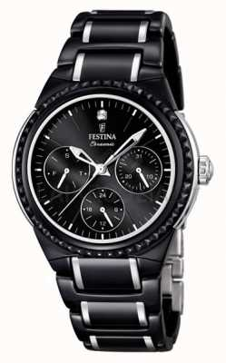 Festina Festina Ladies Multi-function Ceramic Watch F16699/4