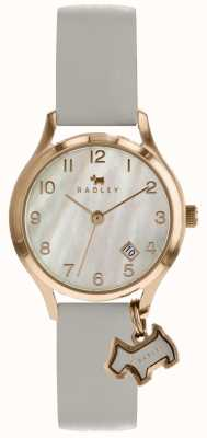 Radley Liverpool Street date display mother of pearl dial rose gold RY2644