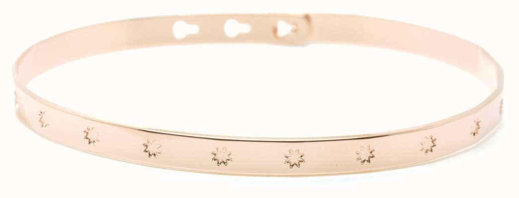 Mya Bay Rose Gold PVD Plated Big Stars Bangle JC-31.P