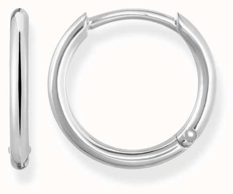 Thomas Sabo Womens Glam And Soul Small Hinged Hoops Silver CR608-001-12