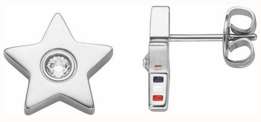 Tommy Hilfiger Womens Star Stone Stud Earrings 2700842