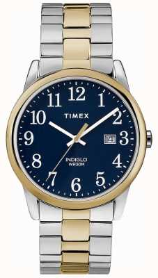 Timex Mens 38mm Expedition Band Two Tone Stainless Steel Bracelet TW2R58500