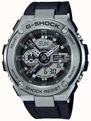 Casio G-Shock G-Steel Black Resin Strap GST-410-1AER