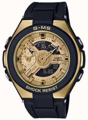 Casio Baby-G G-MS Glamorous Gold Alarm Chronograph MSG-400G-1A2ER