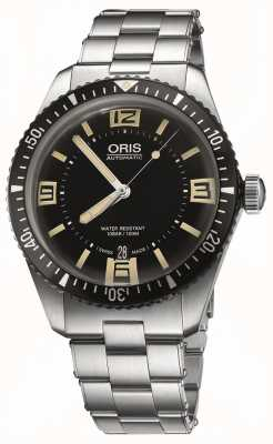 Oris Divers Sixty-five Automatic Stainless Steel Black Dial 01 733 7707 4064-07 8 20 18