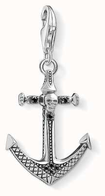 Thomas Sabo Charm pendant cross black 1556-507-11 Thomas Sabo