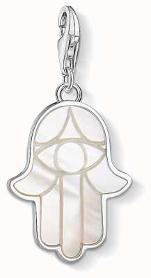 Thomas Sabo Hand Of Fatima Sterling Silver Charm 1557-029-14