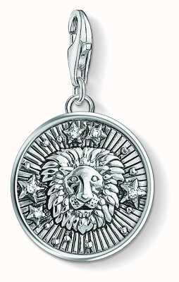 Thomas Sabo Zodiac Sign Leo Sterling Silver Blackened Zirconia 1644-643-21
