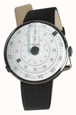 Klokers KLOK 01 Black Watch Head Mat Black Double Strap KLOK-01-D2+KLINK-02-380C2