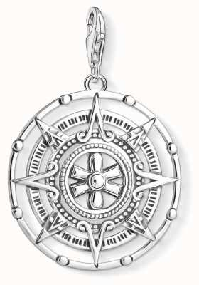 Thomas Sabo Sterling Silver Maya Calendar Charm Pendant Y0035-637-21