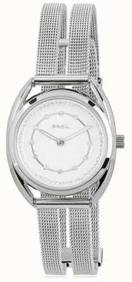 Breil Petit Stainless Steel Silver Crystal Set Dial TW1652