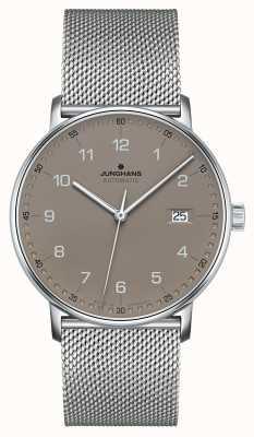 Junghans FORM A Automatic Milanese Mesh Bracelet 027/4836.44