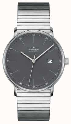 Junghans FORM A Automatic Stainless Steel Bracelet Watch 027/4833.44