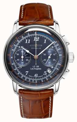 Zeppelin Los Angeles Chronograph Tachymeter 7614-3