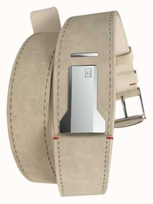Klokers KLINK 02 Grey Alcantara Double Strap Only 18mm Wide 380mm KLINK-02-380C6