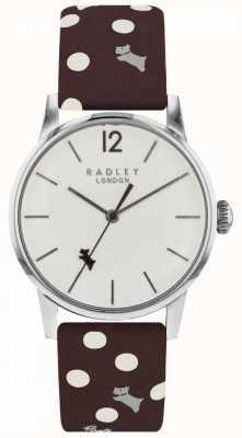Radley Womens Vintage Dog Dot Watch White Dial RY2565