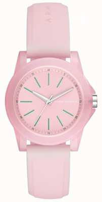Armani Exchange Womens Lady Banks Silicone Strap AX4361