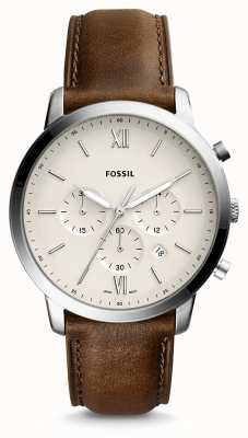Fossil Mens Neutra Chrono Leather Strap FS5380