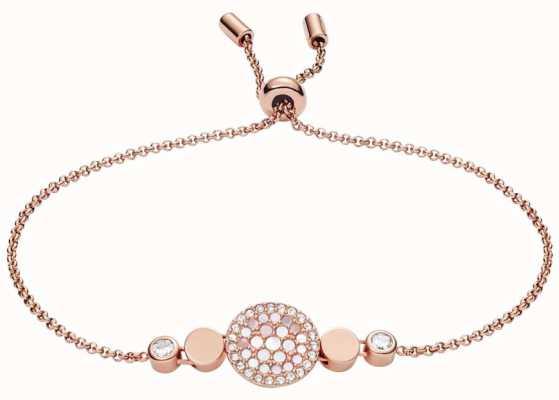 Fossil Womens Vintage Glitz Stainless Steel Jewellery JF02905791