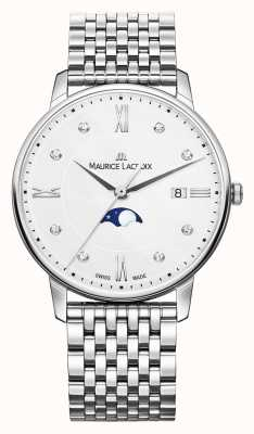 Maurice Lacroix Eliros Ladies Moonphase Mother Of Pearl Stainless Steel Watc EL1096-SS002-150-1