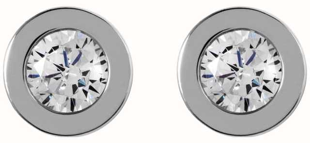 Radley Jewellery Fountain Road Silver Stone Stud Earrings RYJ1001