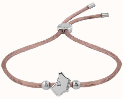 Radley Jewellery Love Radley Radley Dog Head Cord Bracelet RYJ3009