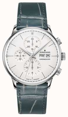 Junghans Meister (English Date) Terrassenbau Limited Edition Steel 027/4729.01