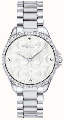 Coach Womens Modern Sport Watch In Stainless Steel 14503070