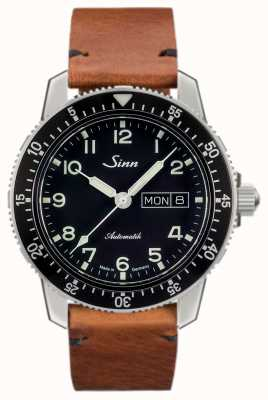 Sinn 104 St Sa A Classic Pilot Watch Light Brown Vintage Cowhide 104.011 VINTAGE COWHIDE