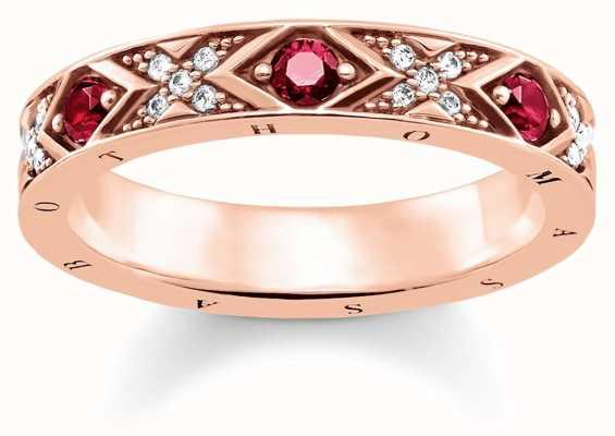 Thomas Sabo Womens Glam And Soul Asian Ornaments Ring TR2163-626-10-56