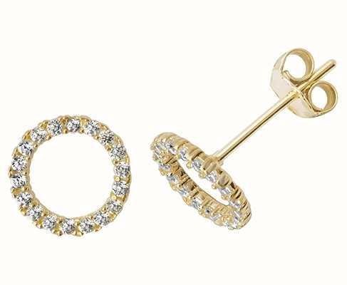 Treasure House 9k Yellow Gold Stud Earrings ES508