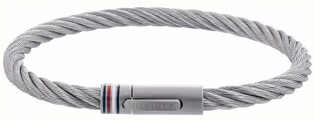 Tommy Hilfiger Wire Cable Stainless Steel Bracelet 2790015