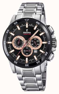 Festina 2018 Chronobike Watch Stainless Steel Bracelet F20352/5