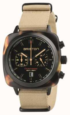 Briston Clubmaster Sport Safari Beige Strap 18142.PBAM.TSS.5.NK