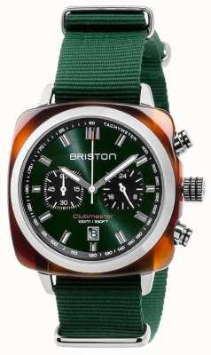 Briston Clubmaster Sport Icons Green Strap 17142.SA.TS.10.NBG
