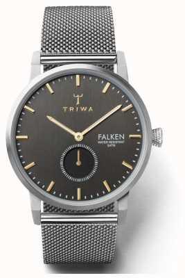 Triwa Mens Smoky Falken | Steel Mesh Strap | TR.FAST119-ME021212
