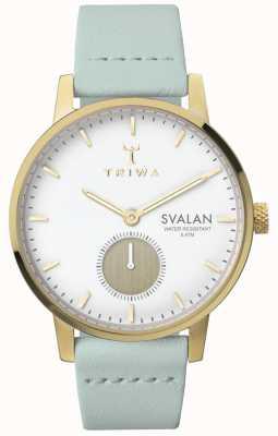 Triwa Womens Ivory Svalan Mint Classic Super Slim TR.SVST105-S111313
