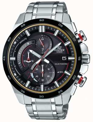 Casio Mens Edifice 3D Chronograph Solar Powered Watch EQS-600DB-1A4UEF