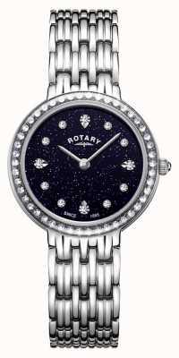 Rotary Women's Kensington Blue Sparkle Dial Stainless Steel LB00400/67