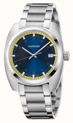 Calvin Klein Men's Achieve Stainless Steel Blue Dial K8W3114N