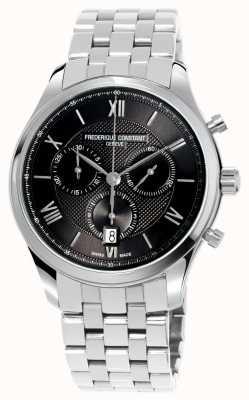Frederique Constant Men's Classics Chronograph Stainless Steel Bracelet FC-292MG5B6B